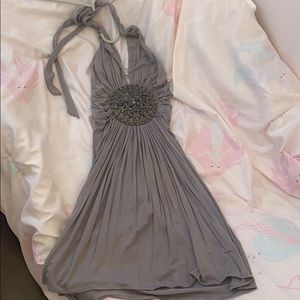Sky dress size xs grey color